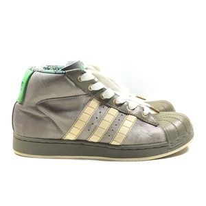 ADIDAS Safety Green Camo High Top Sneakers Boots